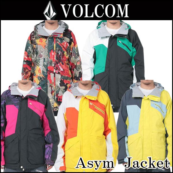 スノーボードウェア/ボードジャケットVOLCOM(ボルコム)Asym Jacket全5色(ヴォルコム)ボードウェア