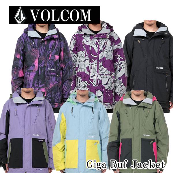 スノーボードウェア/ボードジャケットVOLCOM(ボルコム) Gigi Ruf Jacket(ヴォルコム)ボードウェア