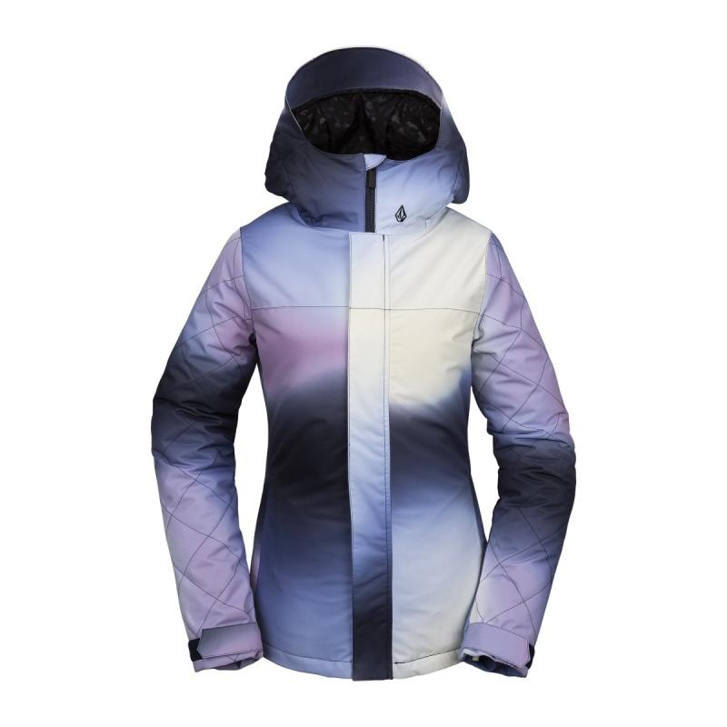 H0452013-WHT 19-20 2020モデル ボルコム VOLCOM スノーボードウェア ジャケット レディース Bolt Ins Jacket