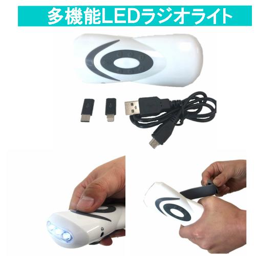 台風 地震での災害時大活躍 これさえあれば 携帯の充電 情報採取OK 地震対策 防災用品 スマホも充電可能 LEDライト 充電器 ラジオ 激安特価品 全国一律送料無料 ライト 非常時 停電時