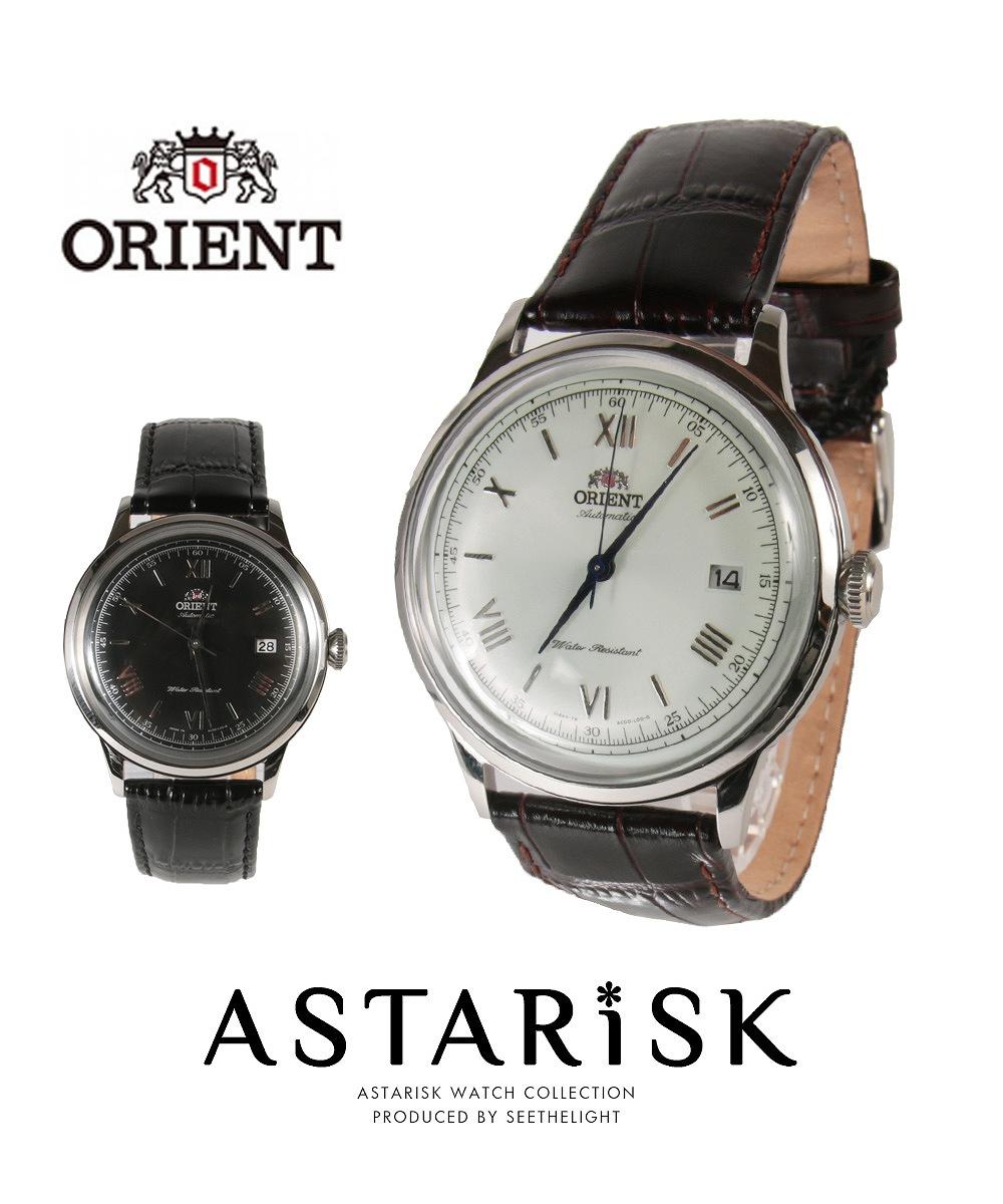 オートマチック カーフ レザーベルト 腕時計 ORIENT オリエント メンズ 男 プレゼント