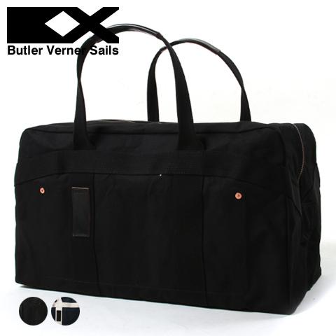 【ボストンバッグ】日本製 パラフィン キャンバス レザー テープ ミリタリー ボストン バッグ 鞄 男性 メンズ 女性 レディース ユニセックス Butler Verner Sails バトラーバーナーセイルズ