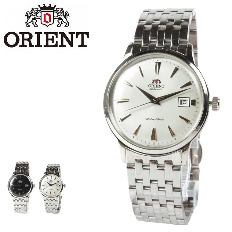 腕時計 海外モデル 日本製 AUTOMATIC オートマチック メタルバンドウォッチ 逆輸入モデル メンズ 男性ORIENT オリエント