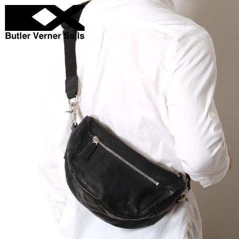 【ショルダーバッグ バッグ 鞄】日本製 本革 ポニーレザー ミニ ショルダーバッグ メンズ レディース ユニセックス Butler Verner Sails バトラーバーナーセイルズ
