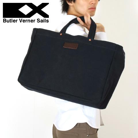 【特典対象】【ショルダーバッグ バッグ 鞄】日本製 オイル パラフィン ショルダー トートバッグ メンズ レディース ユニセックス Butler Verner Sails バトラーバーナーセイルズ