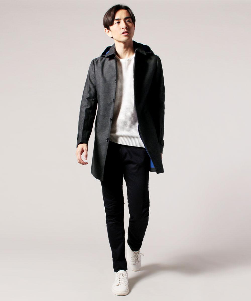 ステン カラー コート メンズ ブランド