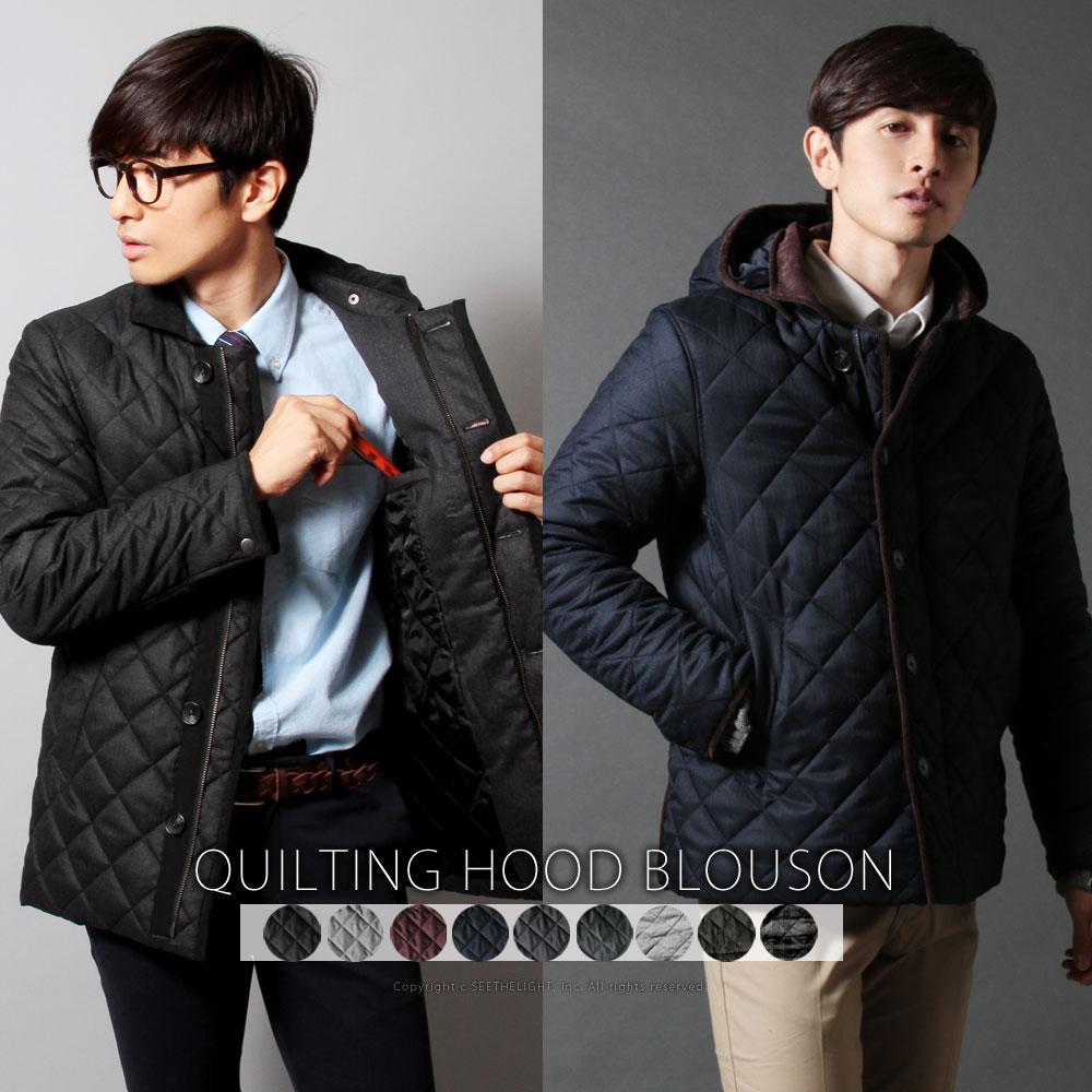 【メンズアウター】冬に着て出かけたい!キルティングジャケット・ブルゾン・コートのおすすめは?