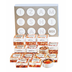 21-0372-036IZAMESHI CAN 百貨店 BOX 爆買いセール 12セット 652466 メーカー在庫限り 4549373005541