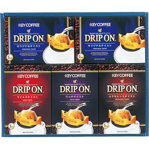 21-0429-080キーコーヒー ドリップオンコーヒーギフト 25%OFF 超安い 25袋 4901372292429 CAG-25N メーカー在庫限り