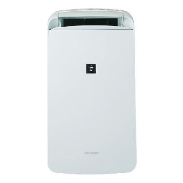 【メーカー在庫限り】シャープ(SHARP)冷風・衣類乾燥除湿機CM-L100-Wプラズマクラスター/ホワイト4974019150086