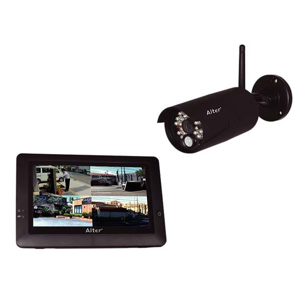 メーカー在庫限りCARROT SYSTEMSキャロットシステムズ17-7638 (オルタプラス)ハイビジョン無線カメラ&モニターセット AT-8801 4560270960788