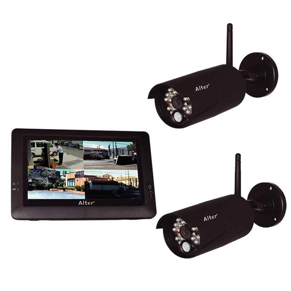 メーカー在庫限りCARROT SYSTEMSキャロットシステムズ17-7641オルタプラス ハイビジョン無線カメラ&モニターセットとAT-8801専用 増設カメラ AT-8801SET 4560270960856