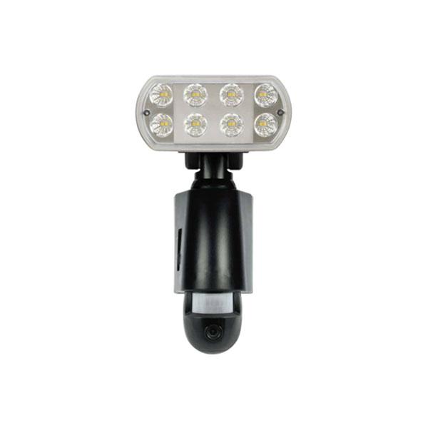 受注発注商品 メーカー在庫限り18-0089 マザーツール SD内蔵LEDセンサーライトカメラ ブラック MT-SL03B 4986702408572