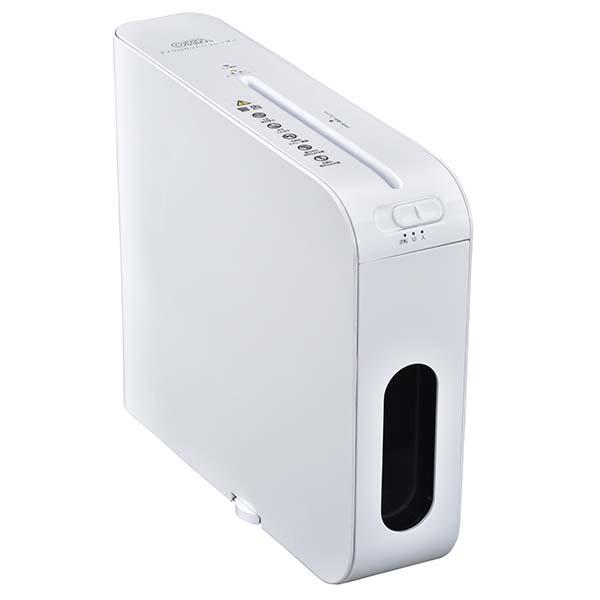メーカー在庫限りオーム電機 00-5143 マイクロカットスリムシュレッダー SHR-MX700-W 4971275051430