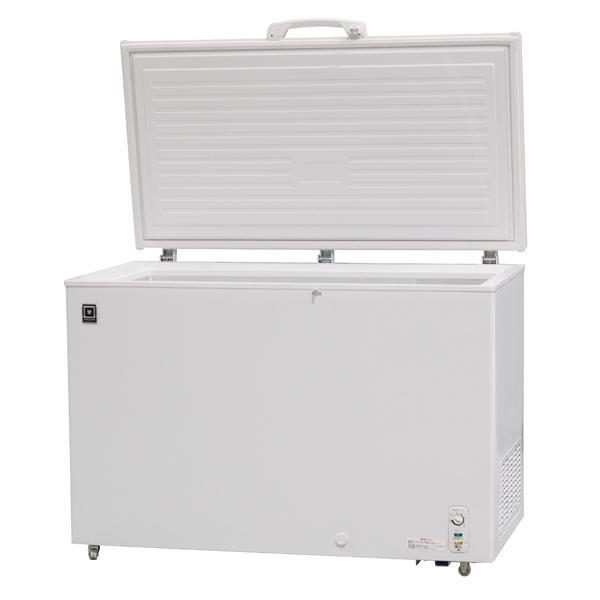 時間指定不可沖縄・北海道・離島不可メーカー在庫限り配送先の軒先までの配達となります レマコム 冷凍ストッカー(冷凍庫) 375L 急速冷凍機能付 -20℃ RRS-375