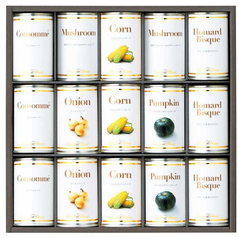 贈り物 ホテルニューオータニ スープ缶詰セット AOR-100 メーカー在庫限り おしゃれ 161W051 4947890002409