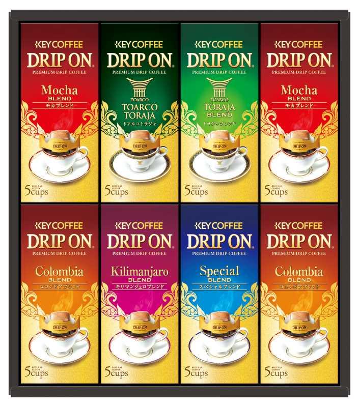 キーコーヒー ドリップオンレギュラーコーヒーギフト 定番から日本未入荷 KDV-40M 4901372295758 メーカー在庫限り 154W083 贈物