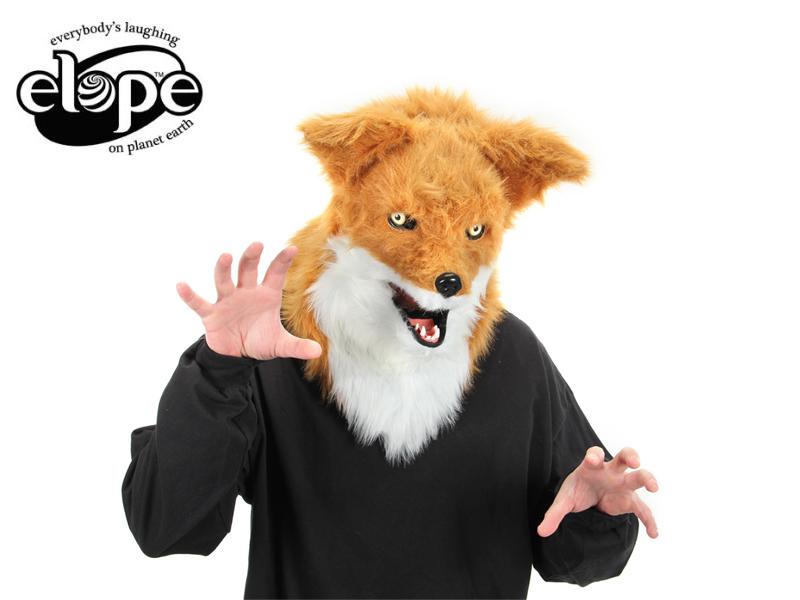 ☆ ELOPEMouth Mover Fox Mask Fox Fox [funny dog mask Hat cosplay birthday  event celebrations banquets unusual costumes kids, Tokyo Marathon 13926