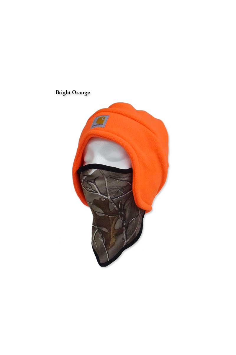 56f729fe9 ☆ freesfaithinwatch FLEECE 2-IN-1 HEADWEAR BRIGHT ORANGE bright orange  8,482 Carhartt #A202 14009