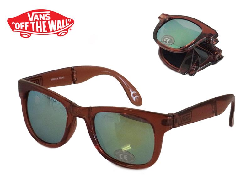 ba5ef5facd VANSFOLDABLESPICOLI 4SHADES Transparent Marsala foldable Spicoli for shade  11462 13211 sunglasses the UV cut 10P26Mar16