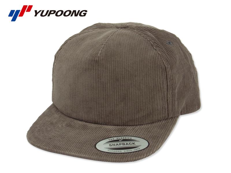 bb927ef5 ss Yupoong 6508 Premium Corduroy Snapback Cap