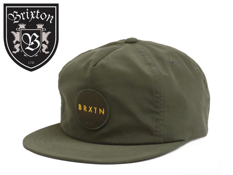 4f9f16ac52f91 STREAM  ☆BRIXTONMEYER 5PANEL CAP FOREST GREEN Meyer Forest green ...