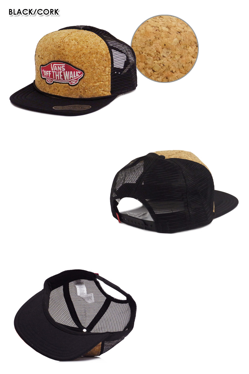 Mesh Cap with emblem OFFTHEWALL ☆ vans classic. Has become a very elaborate  fabric front in each of fabric and the mesh Cap. 3ae5f77ad8b