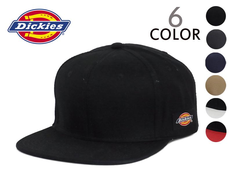 ad24ffd2249 DICKIES COTTON SNAPBACK CAP cotton snap back Cap 12882  men s plain simple baseball  cap hats