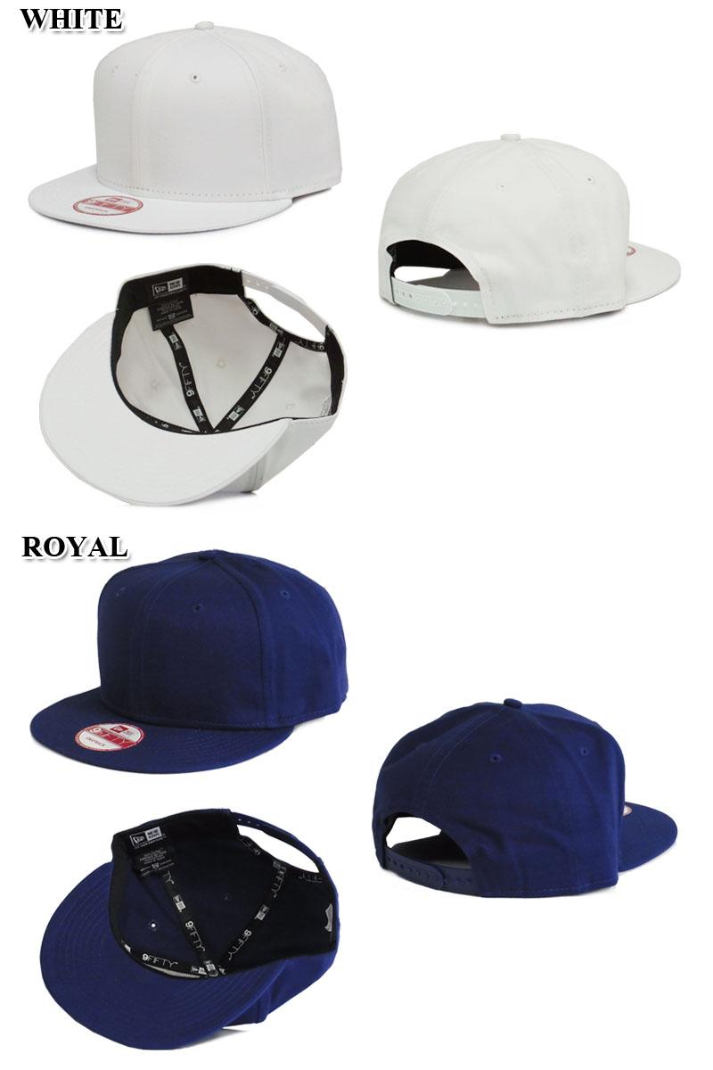 new products 4e5b5 309c6 ... NEWERAFLAT BILL SNAPBACK CAP flat Bill Snapback Cap NE400 11356  solid  custom simple baseball ...