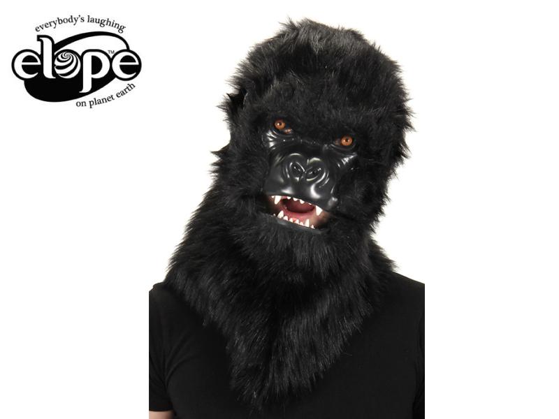 ☆口が動く!ELOPE【イロープ】Mouth Mover Gorilla Mask ゴリラ マスク[マスク 帽子 コスプレ 誕生日 イベント お祝い 宴会 面白い 珍しい 衣装 子供 ファーリー]13926 イースター 10P26Mar16