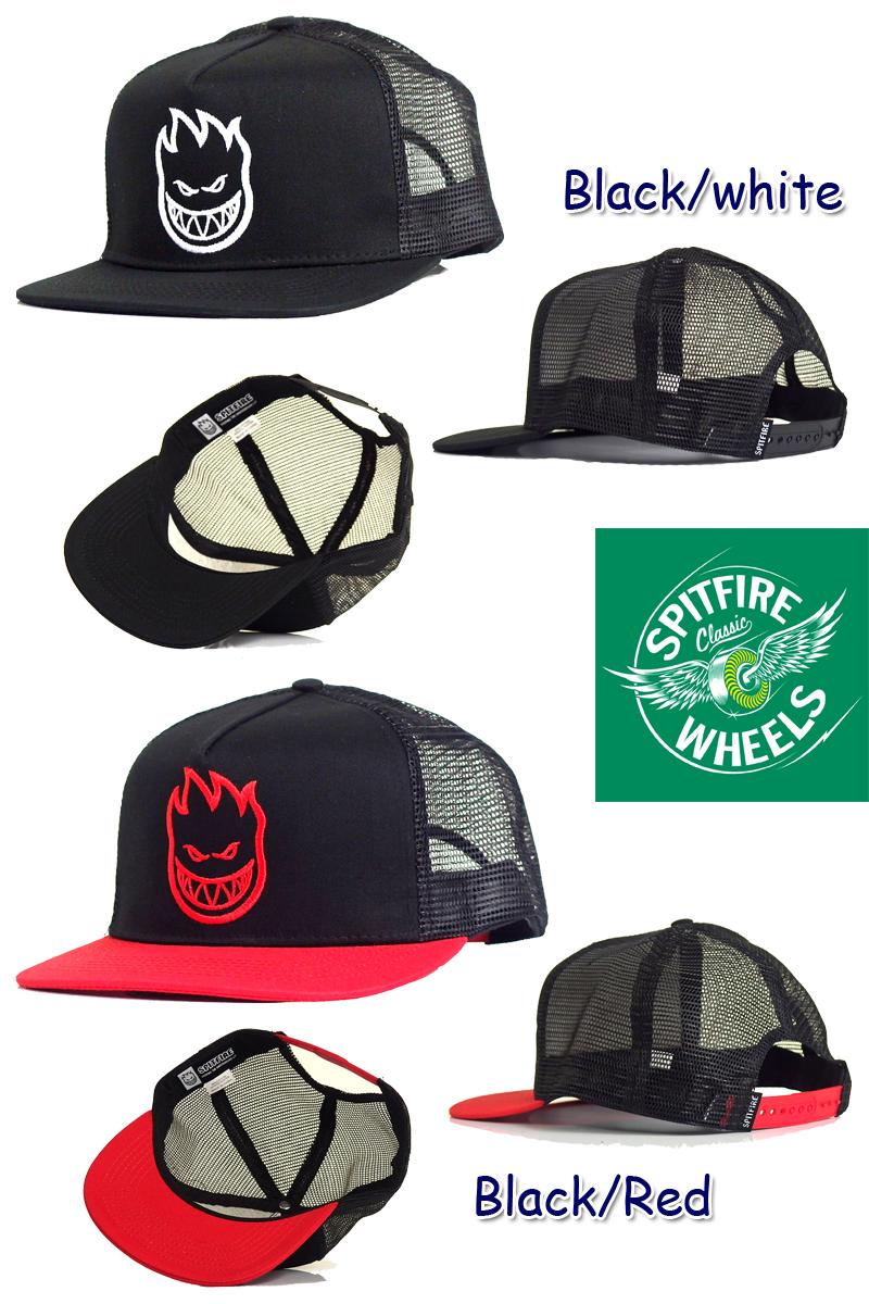 ☆SPITFIRESF1036 BIGHEAD TRUCKER CAP big head trucker cap 12632 10P25Oct14 bfe00078465