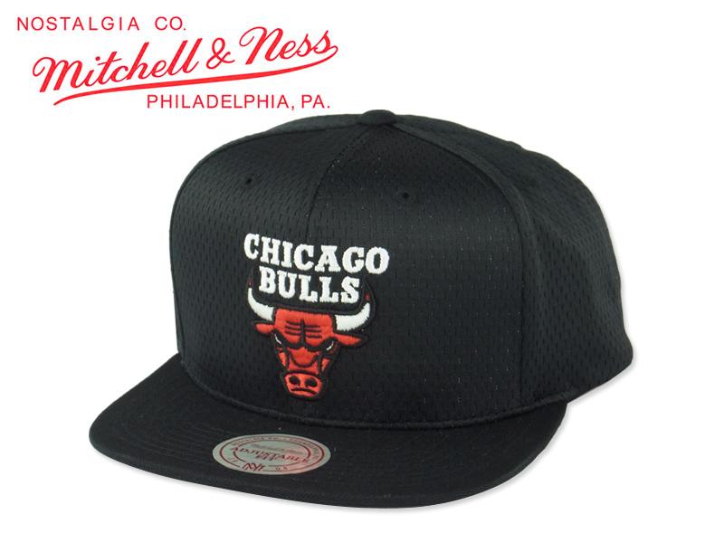 MITCHELL NESS ミッチェル ネス NBA JERSEY MESH CHICAGO BULLS SNAPBACK BLACK ジャージー メッシュ シカゴ ブルズ スナップバックキャップ ブラック 14724 10P05Sep15UzLpjqVGMS