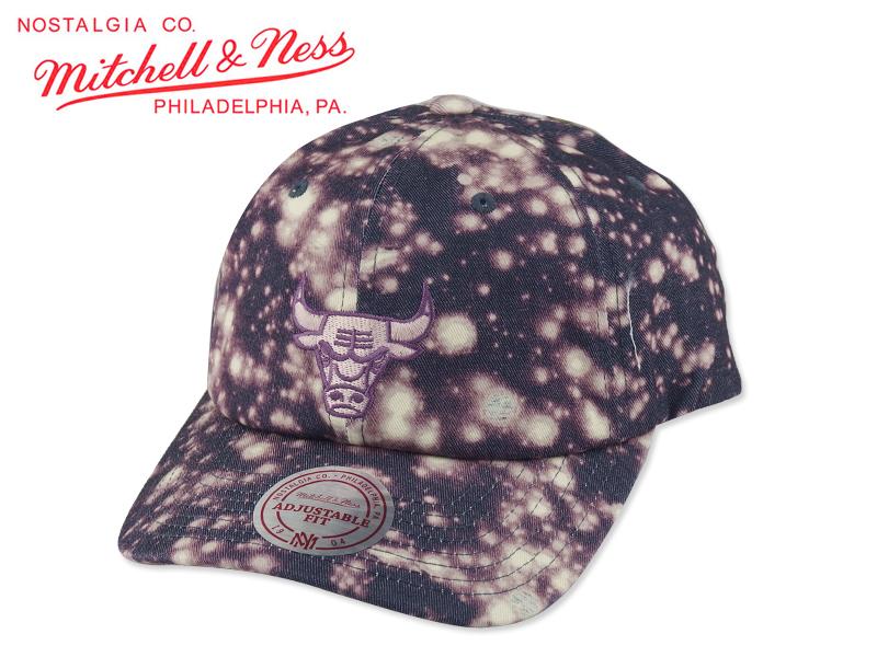 ☆MITCHELL&NESS【ミッチェル&ネス】NBA CHICAGO BULLS Galaxy Dad Hat シカゴ ブルズ ダッドキャップ 15733 P16Sep15