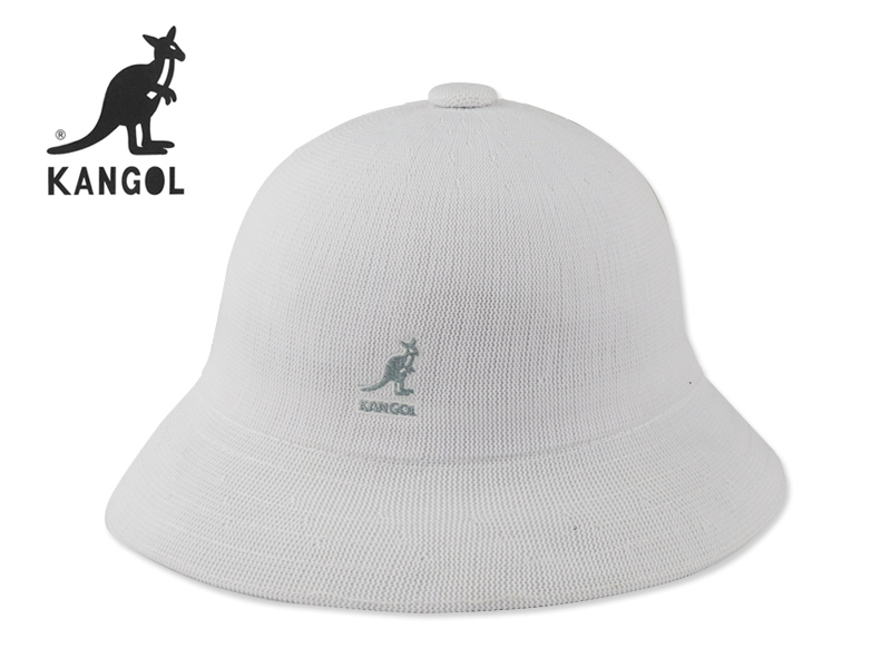 ☆KANGOL【カンゴール】TROPIC CASUAL HAT WHITE トロピック カジュアル ハット ホワイト 15681 [メンズ レディース]