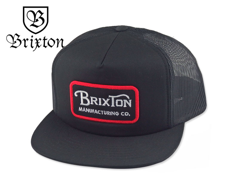 Black Brixton x Independent Hedge Snapback Hat