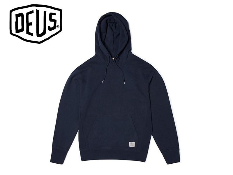 DEUS EX MACHIN【デウス エクスマキナ】Austin Hoody Sweater Black オースティン フーディー ブラック 17028 [サーフィン メンズ レディース]10P19Dec15