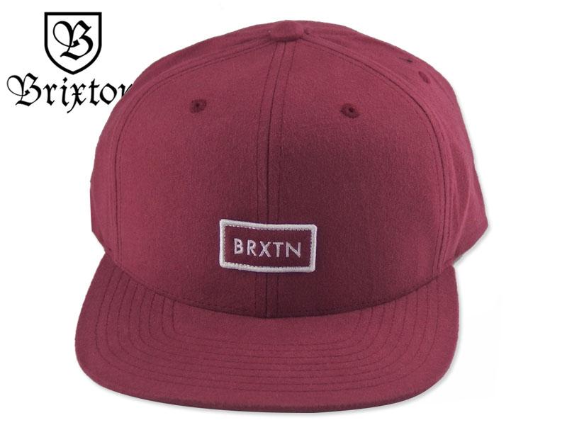 40%OFFの激安セール 送料無料 ☆BRIXTON ブリクストン 新品未使用 RIFT MP SNAPBACK BURGUNDY キャップ メンズ BB CAP ストラップバック バーガンディ レディース 17205