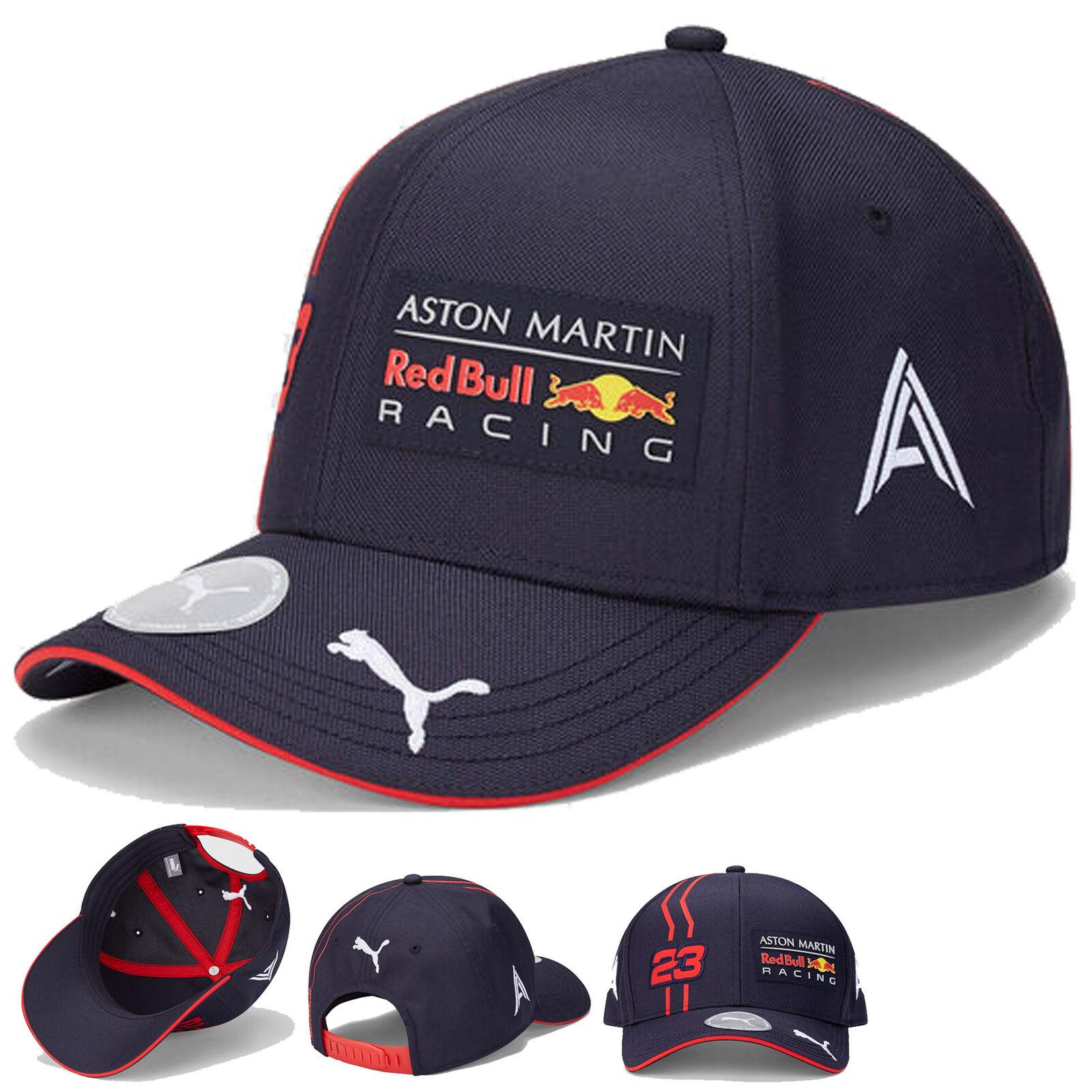 ★送料無料★Aston Martin Red Bull Racing Team Cap Alex Albon アストン マーチン レッドブルー キャップ 帽子 ネイビー アレクサンダー・アルボン
