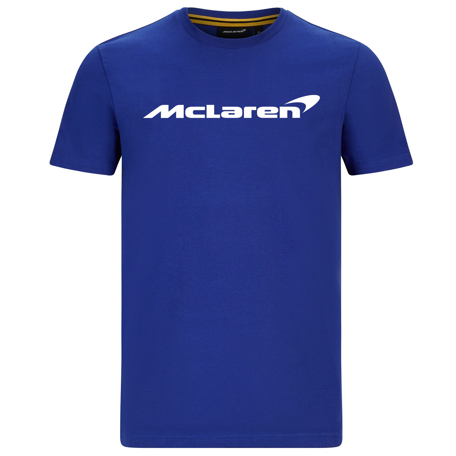 Mclaren F1 Team Official Blue Tee マクラーレン オフィシャル Tシャツ 半袖 ブルー