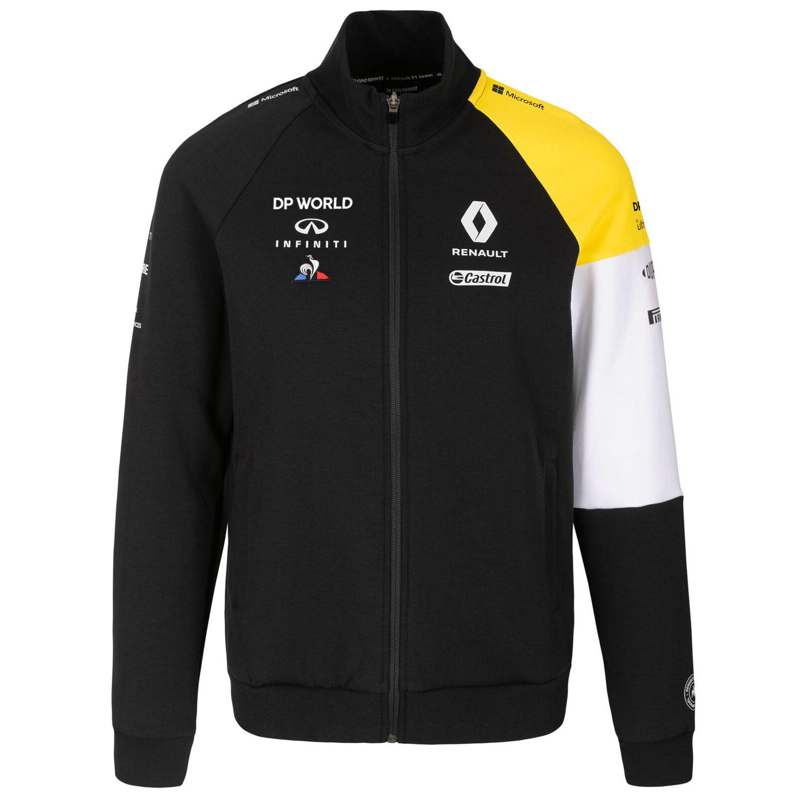 ★送料無料★Renault F1 Official Black Team Sweatshirt ルノー オフィシャル スウェットシャツ ブラック 長袖 ジャケット