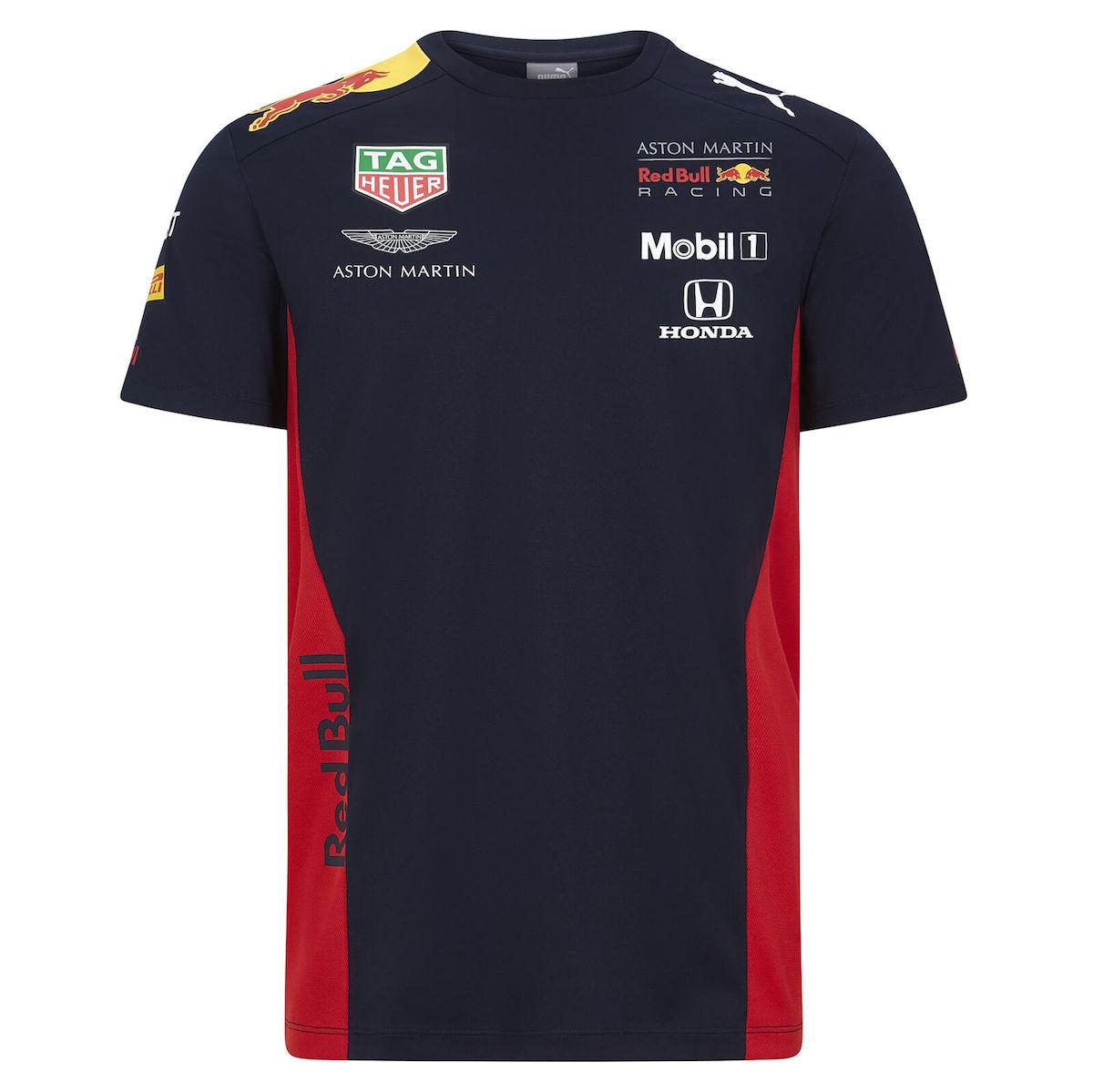 ★送料無料★Aston Martin Red Bull Racing F1 Team Tee アストンマーチン レッドブルー Tシャツ 半袖 ネイビー