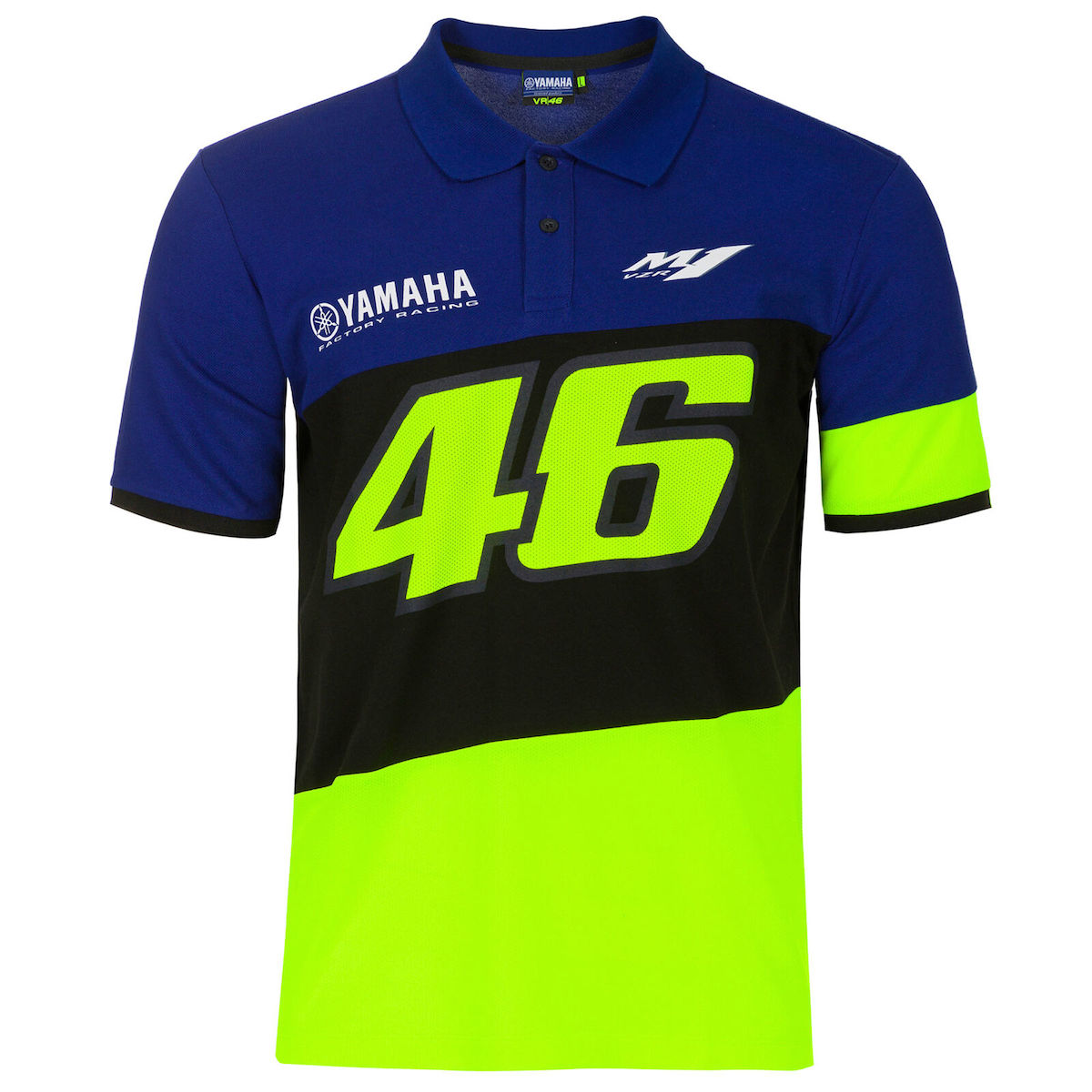 ★送料無料★ 2020 Valentino Rossi VR46 Yamaha Polo Shirt ヴァレンティノ ロッシ ヤマハ ポロシャツ 半袖