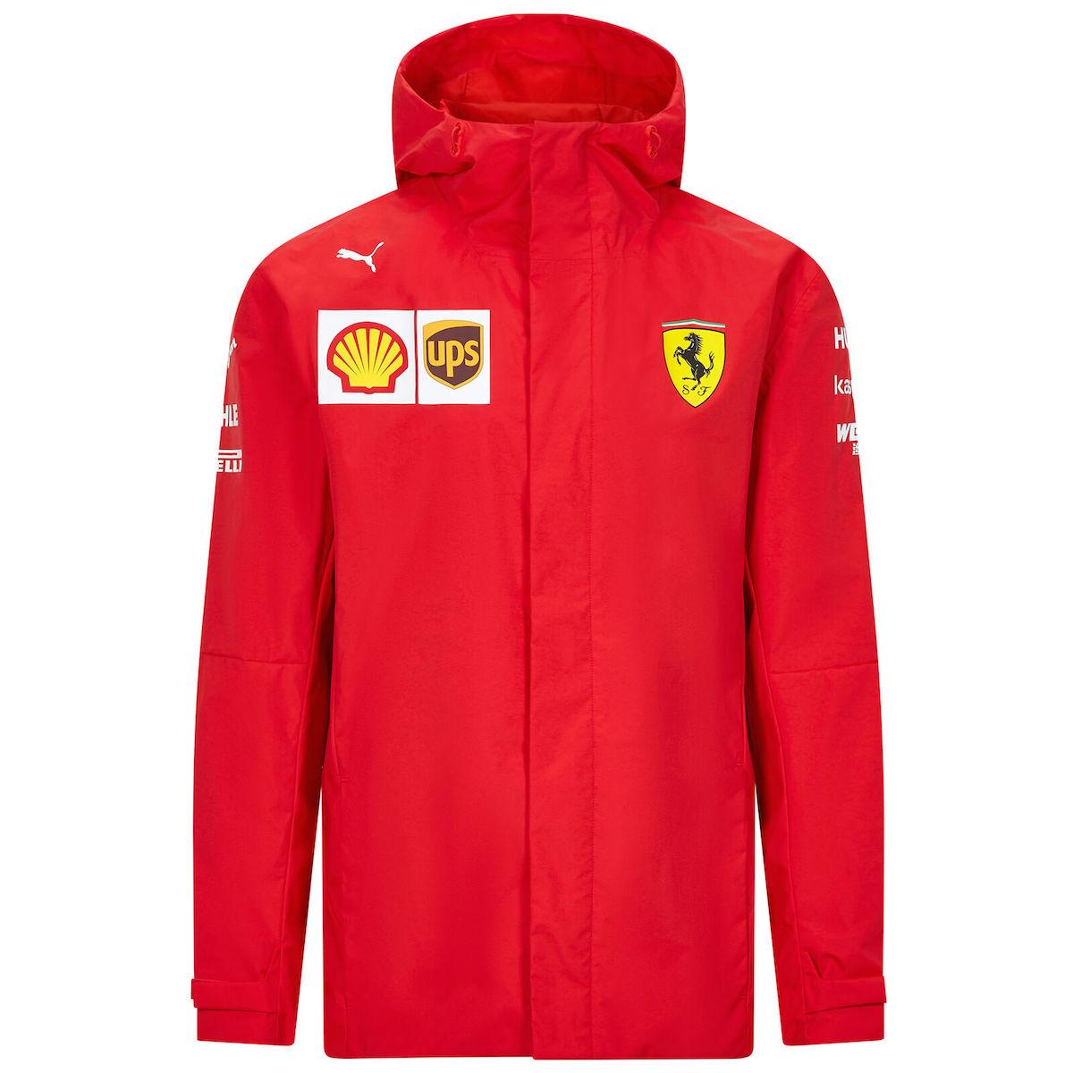 ★送料無料★Scuderia Ferrari F1 Team Jacket フェラーリ ジャケット コート レッド