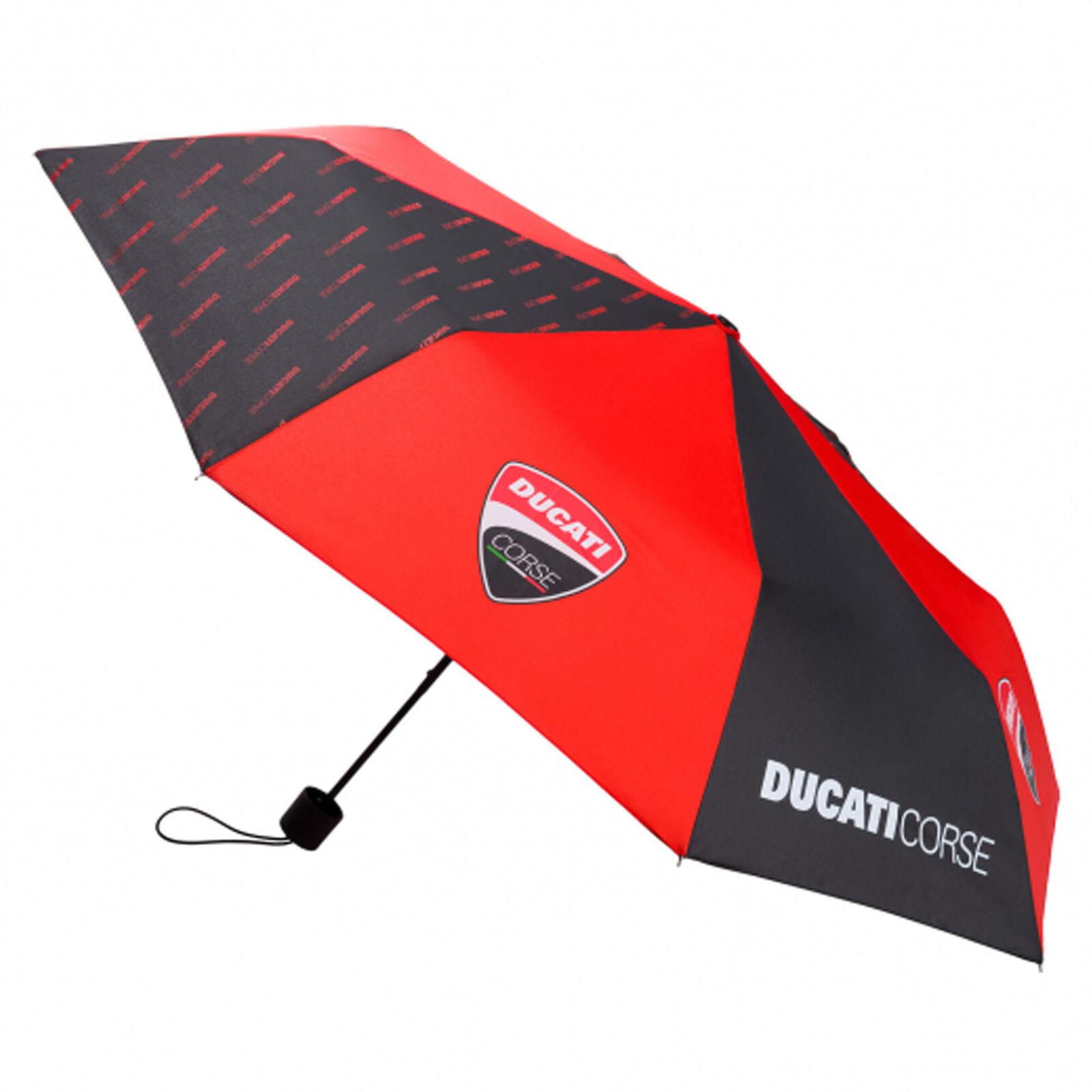 ★送料無料★Ducati Corse Racing MotoGP Compact Small Umbrella ドゥカティ コンパクト 傘 アンブレラ 折りたたみ傘