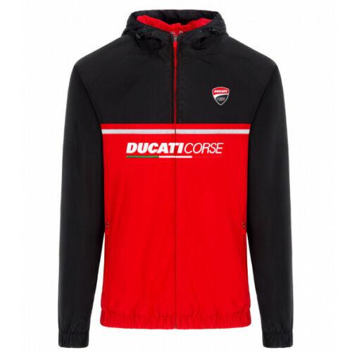 送料無料 Ducati Corse Racing MotoGP Mens Jacket Zip Up Windproof Lightweight ドゥカティ ジップアップ ナイロン ジャケット
