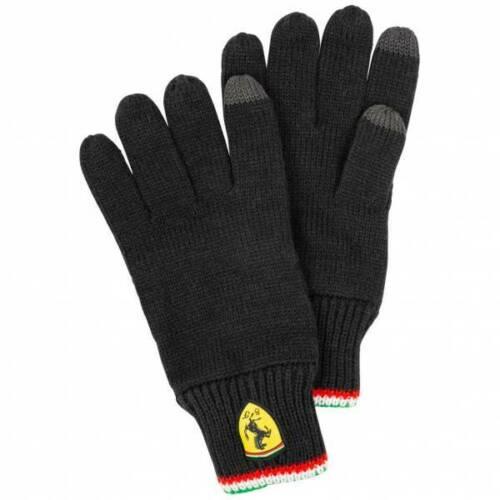往復送料無料 送料無料 FERRARI BLACK TOUCH SCREEN 手袋 GLOVES グローブ フェラーリ 送料無料 激安 お買い得 キ゛フト ブラック