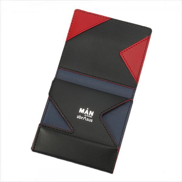 【薄い財布 『ウルトラマン』「科学特捜隊 流星マークモデル」】ウルトラマン科学特捜隊 流星マークと、ランク連続1位の「薄い財布 abrAsus」がコラボ。札入れ、コインケース、カードケースが究極に薄い二つ折り革財布に。アブラサス、プレゼント、ギフトに