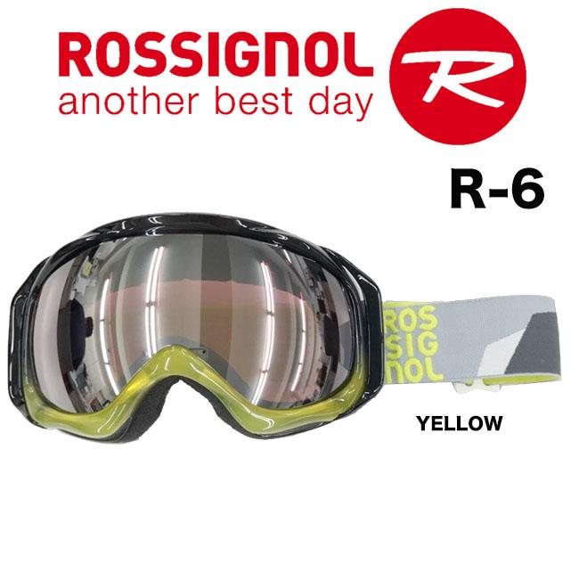 【送料無料】今だけマルチレンズクリーナープレゼント!【R-6 RKEG03J R6】 ROSSIGNOL ロシニョール スノーゴーグルジャパンフィット ヘルメット対応 05P30Nov13