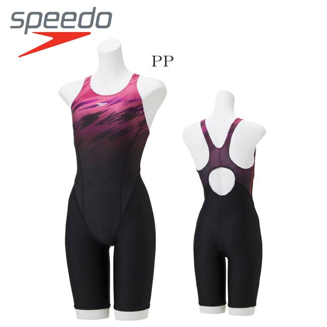 【送料無料】【SFW11931】 SPEEDOスピード フィットネス トレーニング水着 レディース スパッツタイプ ニースキン