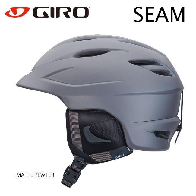 【送料無料】【SEAM】 GIRO ジロ ヘルメット MATTEPAWTER シーム スノーヘルメット 大人用 オールマウンテンヘルメットスノー スキー
